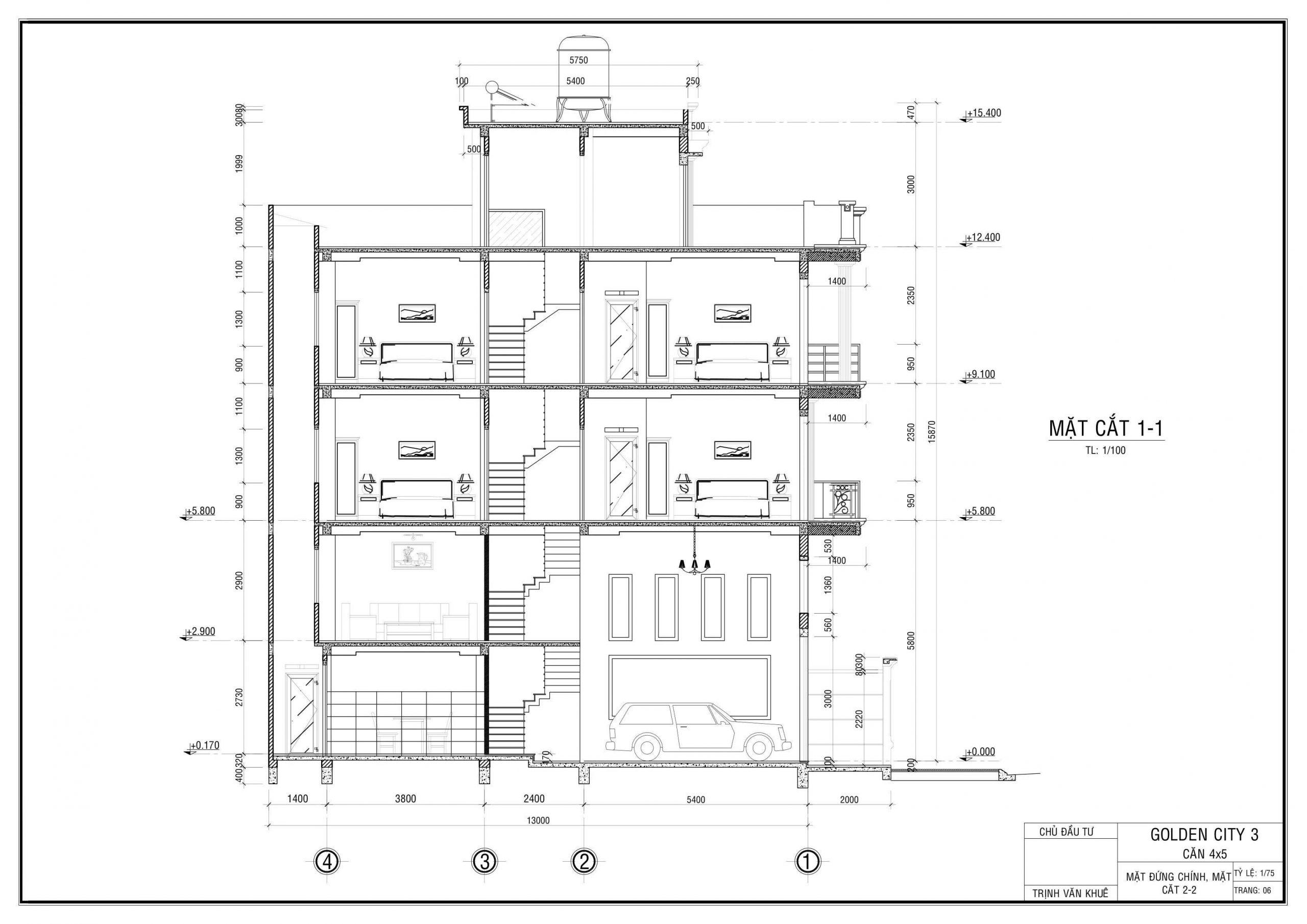 thiết kế nhà one palace quận 12